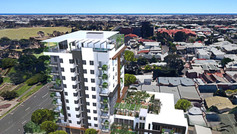 Com 111 113 south tce 11 levels 38m citi terrace for 1 south terrace adelaide