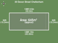 20 Devon Street, Cheltenham, Vic 3192