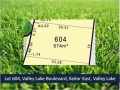 Lot 604 Valley Lake Boulevard, Keilor East, Vic 3033