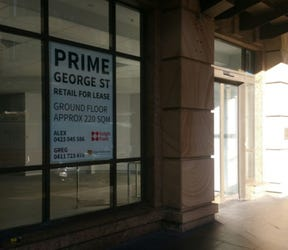 Ground Floor, Shop 1, 254 George Street, Sydney, NSW 2000