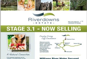 Lot 307 Riverdowns Estate, Clarence Town, NSW 2321