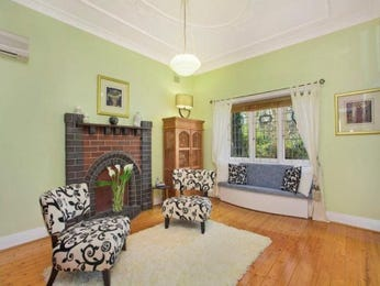 Green living room idea from a real Australian home - Living Area photo 524077