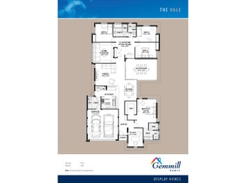 The Vale - floorplan