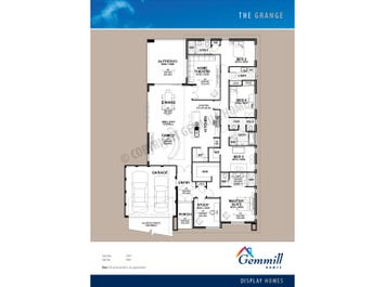The Grange - floorplan