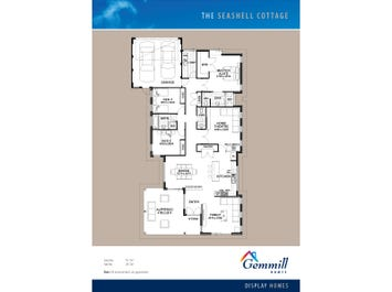 The Seashell Cottage - floorplan