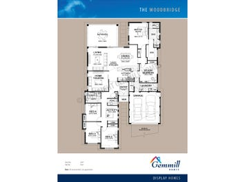 The Woodbridge - floorplan