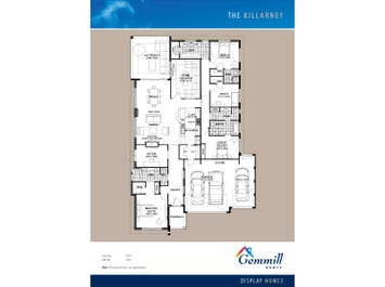 The Killarney - floorplan