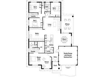 The Providence - floorplan