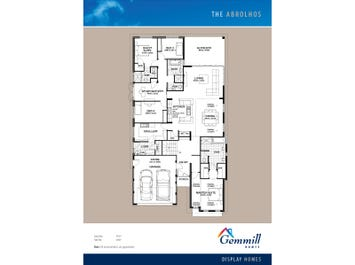 The Abrolhos - floorplan