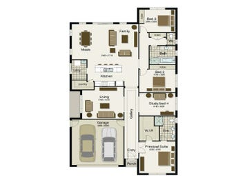 Regatta 255 - floorplan