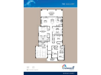 The Gallery - floorplan