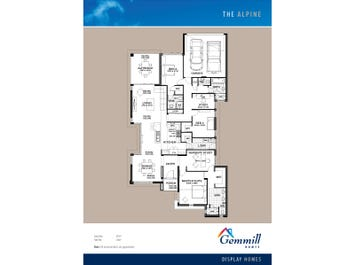 The Alpine - floorplan