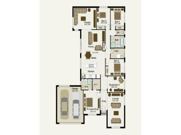 Riverwood 230 - floorplan