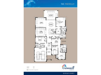 The Prevelly - floorplan
