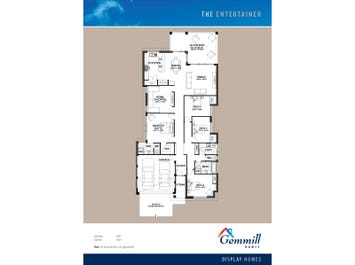 The Entertainer - floorplan