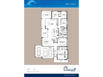 The Tahoe - floorplan