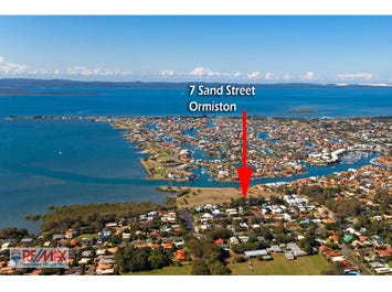 7 SAND STREET, Ormiston, Qld 4160