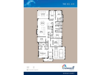 Bel Air - floorplan