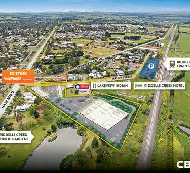 RIDDELLS CREEK SHOPPING CENTRE DEVELOPME, 1-3 & 2  Station Street, Riddells Creek, Vic 3431