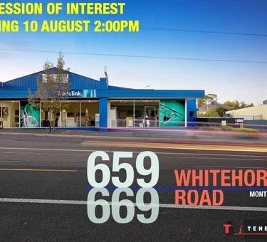 659 - 669 Whitehorse Road, Mont Albert, Vic 3127