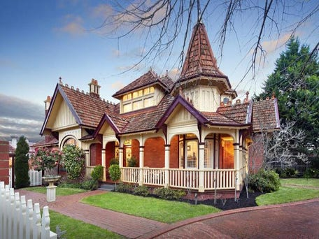 'Travancore' - Ussher & Kemp Grandeur at 608 Riversdale Road, Camberwell