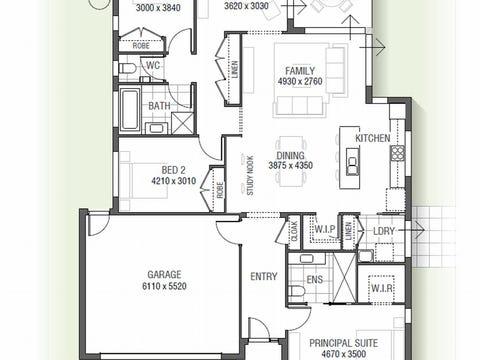 Boronia 1525 A01 - floorplan