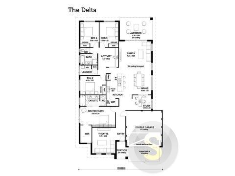 The Delta - floorplan