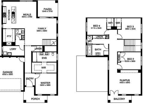 Claremont 34 - floorplan