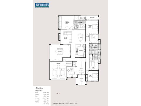 Cove - floorplan