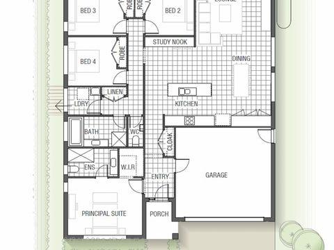 Gardenia 1525 N01 - floorplan