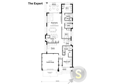 The Expert - floorplan