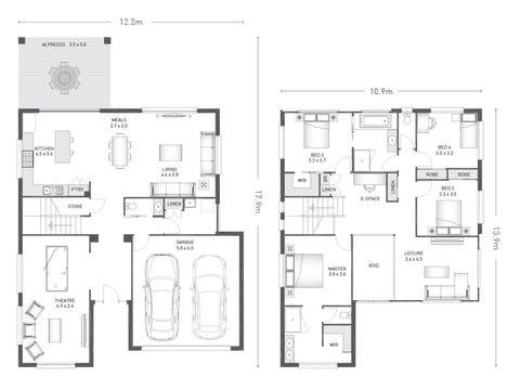 Wilmont 32 - floorplan