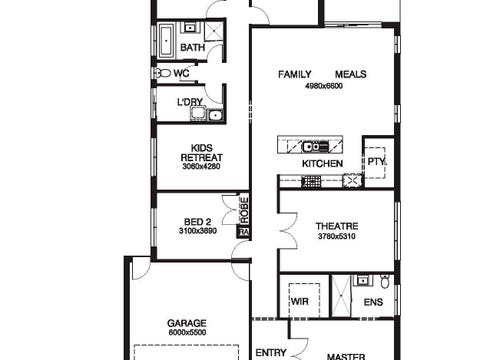 Delray 27 - floorplan