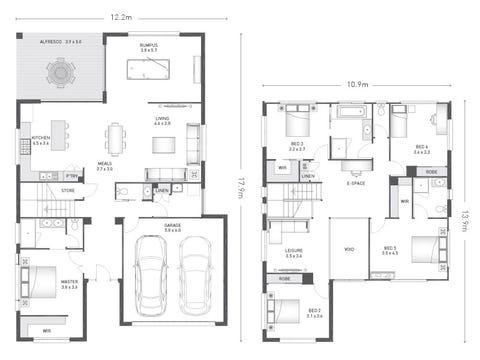 Wilmont 35 - floorplan