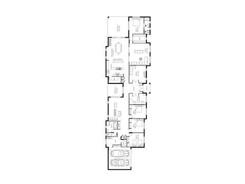 Entertainer 47 - floorplan