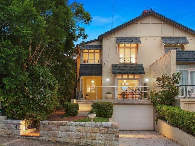 4 Wolseley Road, Mosman, NSW 2088