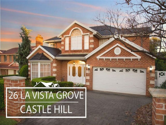 26 La Vista Grove, Castle Hill, NSW 2154