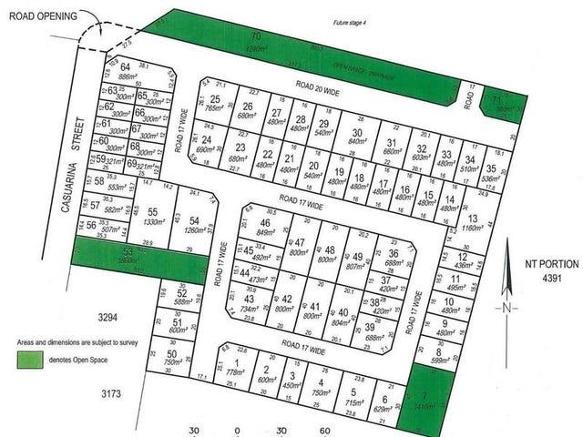 Lot 3384 (Block 54) Casuarina Park, Katherine, NT 0850