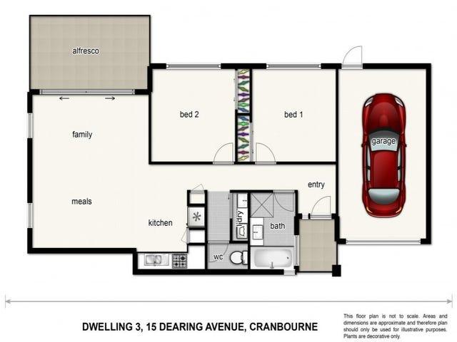 3/15 Dearing Avenue, Cranbourne, Vic 3977