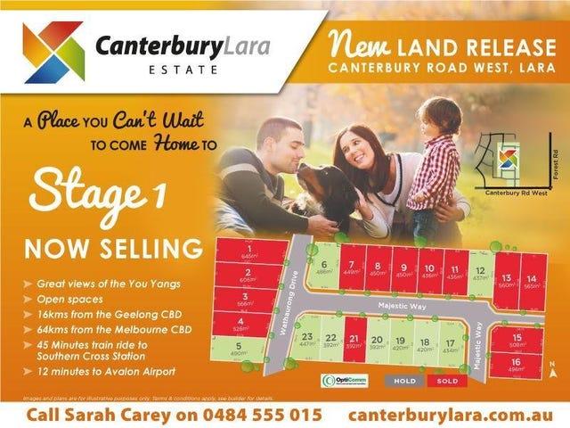 50 lot 1-23 Canterbury Road West, Lara, Vic 3212