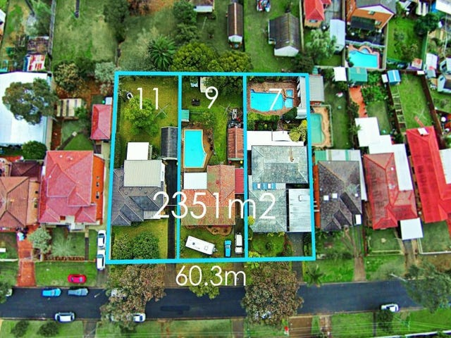 7,9,11 Mayberry Crescent, Liverpool, NSW 2170