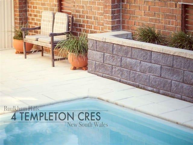 4 Templeton Crescent, Baulkham Hills, NSW 2153