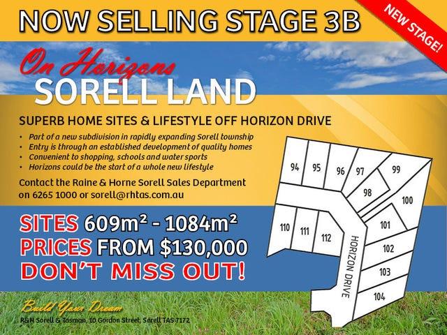 Stage 3B 'On Horizons', Sorell, Tas 7172
