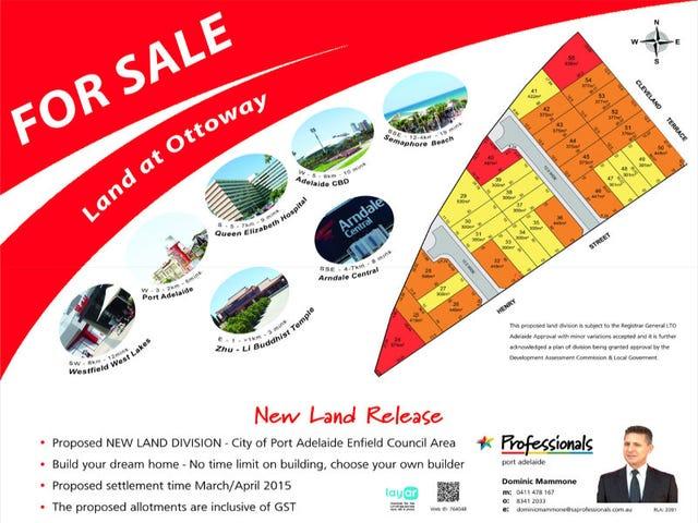 Lot 24 - 55, Lot 24-55 Cleveland Terrace, Ottoway, SA 5013