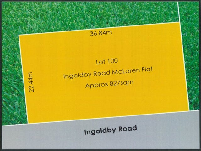 Lot 100 Ingoldby Road, McLaren Flat, SA 5171
