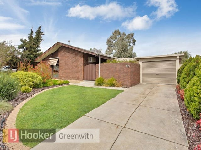 15 Brunel Drive, Modbury Heights, SA 5092