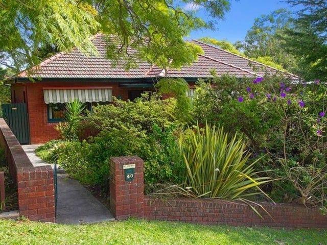 40 Wisdom Road, Greenwich, NSW 2065