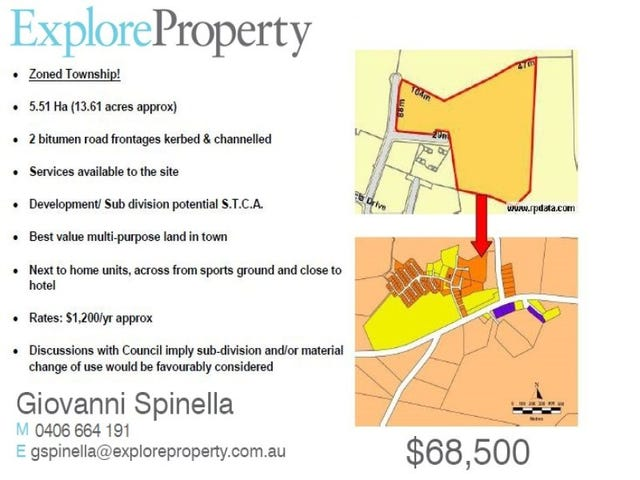 Lot 138 Redbank Drive, Charters Towers, Qld 4820