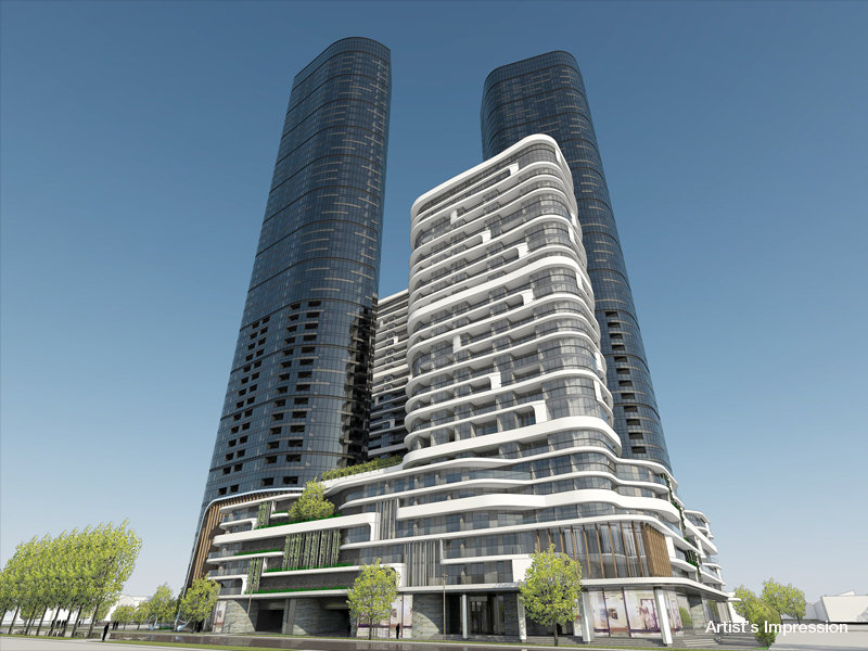 FISHERMANS BEND ZONE | 60-82 Johnson Street | 158m | 53L | Mixed Use