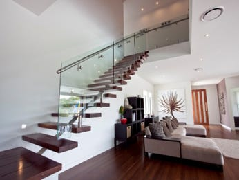 White living room idea from a real Australian home - Living Area photo 387845